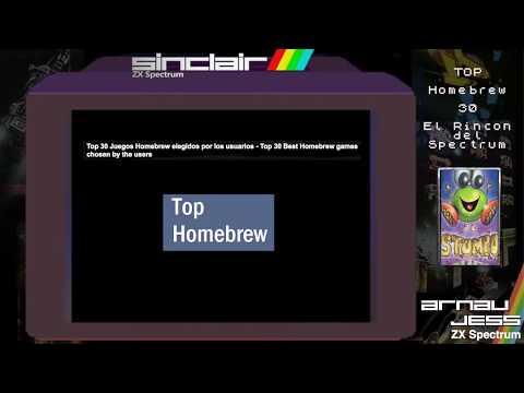 TOP HOMEBREW -30-  El Rincón del Spectrum