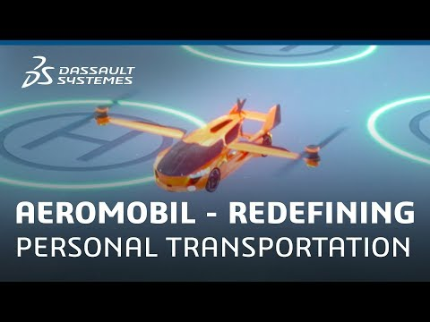 AeroMobil – Redefining personal transportation with the 3DEXPERIENCE Platform - Dassault Systèmes