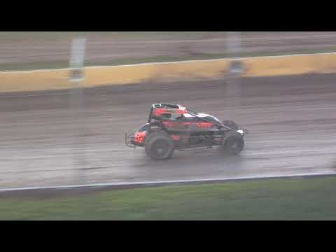 UMSS Traditional Sprint Feature - Cedar Lake Speedway 08/21/2021 - dirt track racing video image