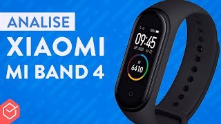 XIAOMI MI BAND 4 vale a pena?? | Análise / Review Completo