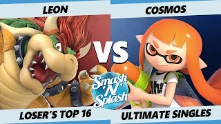 SNS5 SSBU - LeoN (Bowser) Vs. PG | Cosmos (Inkling ) Smash Ultimate Losers Top 16