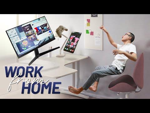 Review góc làm việc ở nhà: KHÔNG cần PC, Laptop