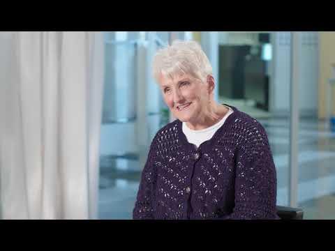 Carol Stephan, Audéo B-Direct hearing aid wearer