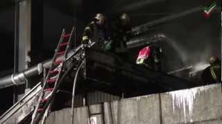 NRWspot.de | Hagen – Brand im Lennetal in einer Entsorgungsfirma in der Tiegelstraße