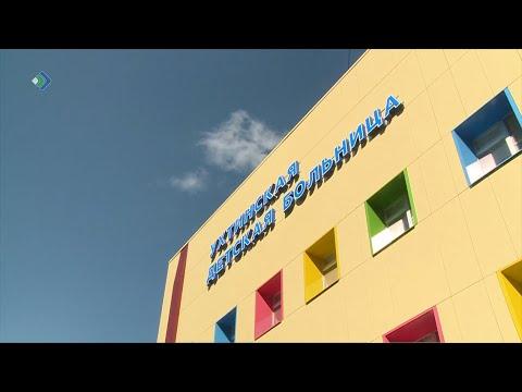 В Ухте подошёл к концу большой ремонт детской больницы