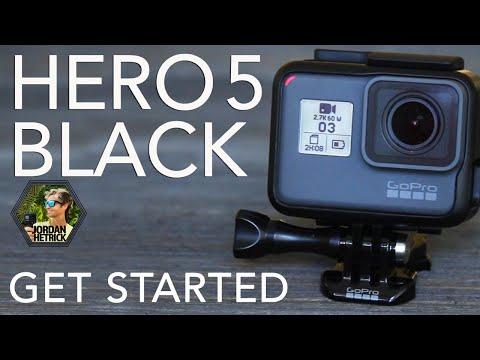 GoPro HERO 5 BLACK Tutorial: How To Get Started