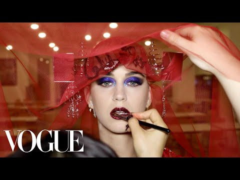 24 Hours with Katy Perry at the 2017 Met Gala | Vogue