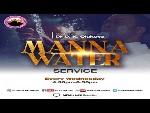 MFM MANNA WATER SERVICE 27-10-21  DR D.K. OLUKOYA
