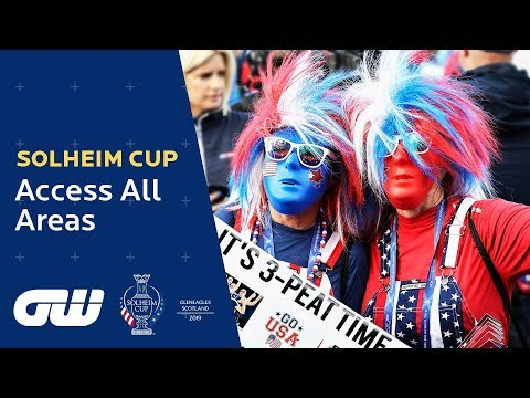 Incredible Atmosphere at the Opening Ceremony! | Solheim Cup 2019: Access All Areas | Golfing World
