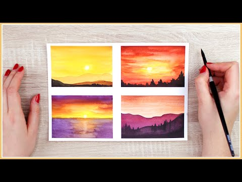 Tips for Watercolor Painting Beginners   Painting Ideas, How to Paint & Practice More in Less Time