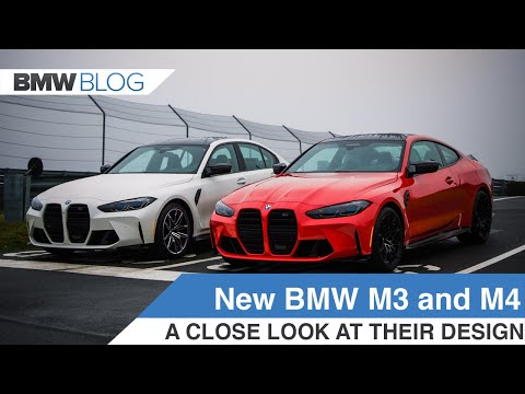 A design review of the new 2021 BMW M3 (G80) and M4 (G82)