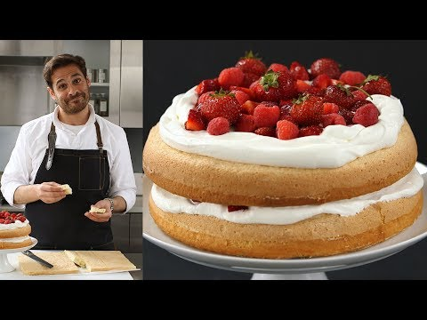 Foolproof Sponge Cake - Kitchen Conundrums with Thomas Joseph