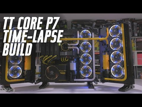 NCASE M1 V3 Watercooling [Square Project #2] Time-Lapse