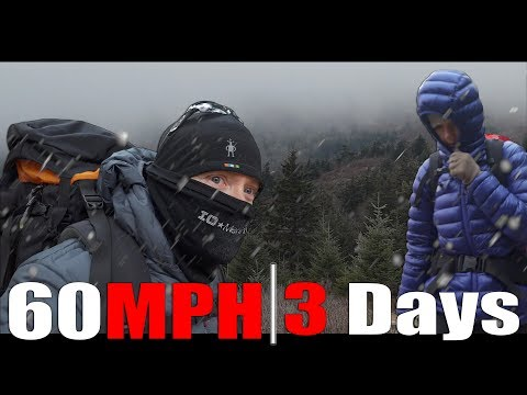 60MPH Winds - 3 Days in the Windy Mountains