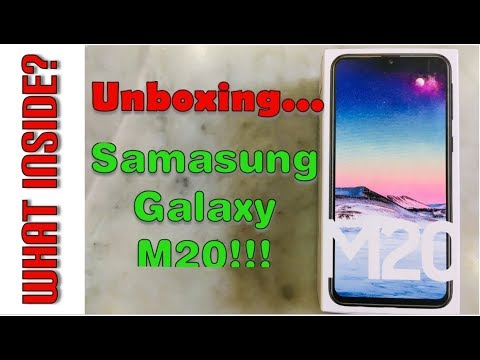 Samsung Galaxy M20 Unboxing & First Look #GalaxyMSeries #IMPOWERD