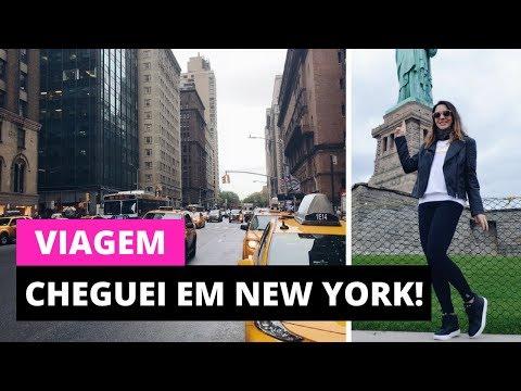 Cheguei em New York - Parte 1 | Dicas de Viagem