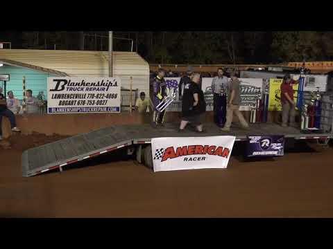 Winder Barrow Speedway 2021 Award Ceremony - dirt track racing video image