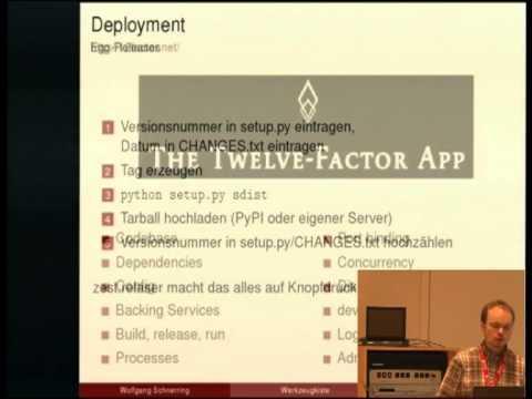Image from Aus der Werkzeugkiste eines Python/Web-Entwicklers