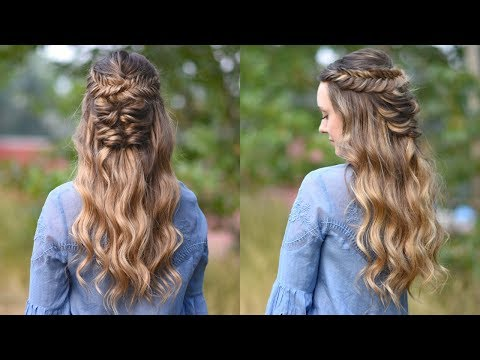 Twisted Fishtail   Holiday Hairstyle   Prom Hairstyle   Cute Girls Hairstyles