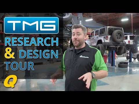 TMG Research & Design Facility Tour