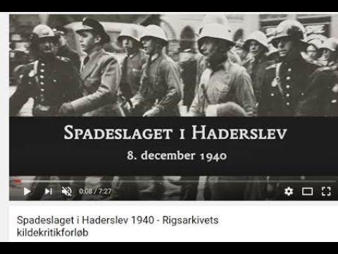 Spadeslaget i Haderslev 1940