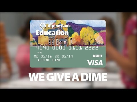 Alpine Bank Gives A Dime about YouthEntity