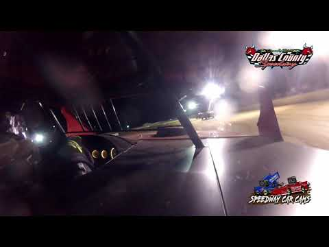 #00 Ryan Larsen - Midwest Mod - 4-30-2021 Dallas County Speedway - In Car Camera - dirt track racing video image