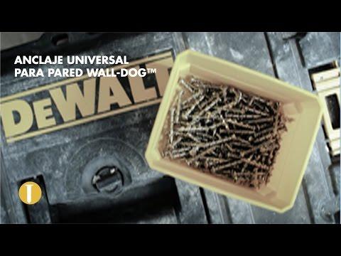 Descubre el innovador anclaje universal para pared Wall-dog™