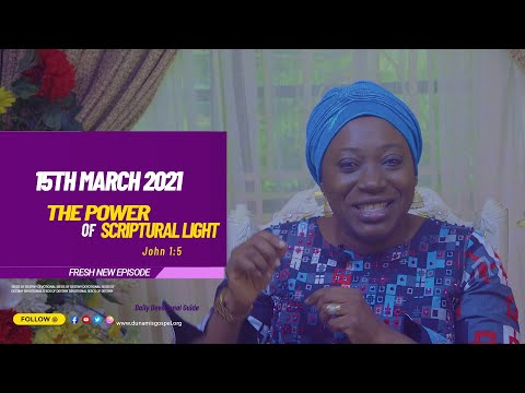 Dr Becky Paul-Enenche - SEEDS OF DESTINY  MONDAY MARCH 15, 2021