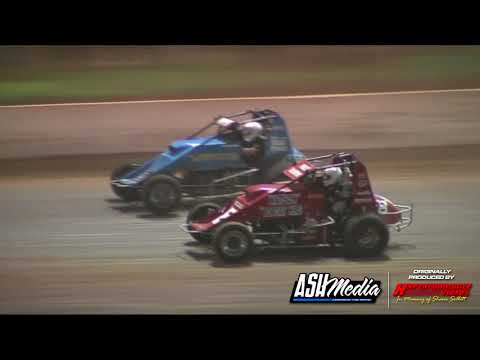 Wingless Sprints: A-Main - Archerfield Speedway - 07.01.2012 - dirt track racing video image