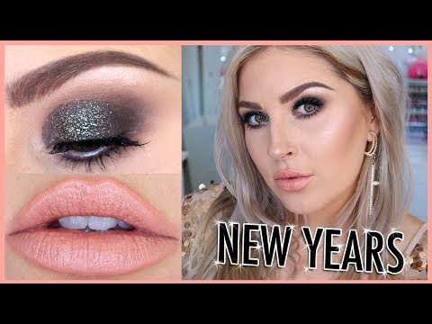 NYE Sparkly Makeup Tutorial! ?? Chit Chat GRWM ?