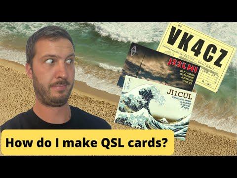 How Do I Make QSL Cards?