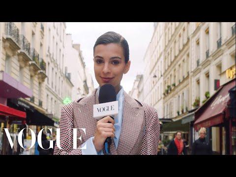 Emily Ratajkowski's Paris Fashion Week Adventure | Supermodel! | Vogue