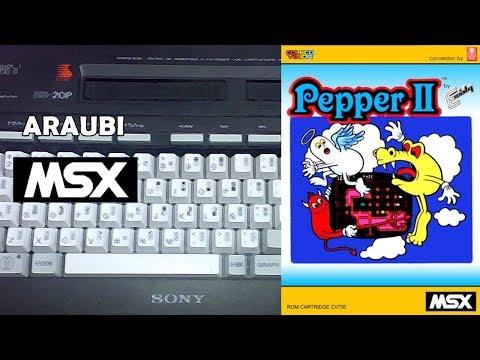 Pepper II (Muffie, 2008) MSX [748] Walkthrough