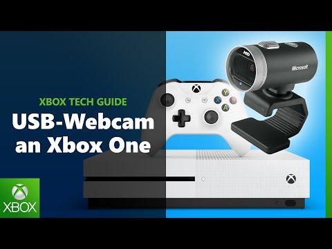 Eine USB-Webcam an eure Xbox One anschließen   Xbox Tech Guide Tutorial