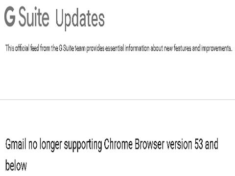 Gmail - No Longer Supports Windows XP & Windows Vista
