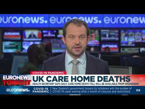 UK: Health secretary says daily care home death toll will be available from Wednesday photo