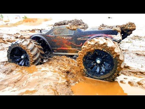 RC Mud Trucks Racing, Jumping 4x4 — JLB Racing CHEETAH and VRX Racing RH1045 — RC Extreme Pictures - UCOZmnFyVdO8MbvUpjcOudCg