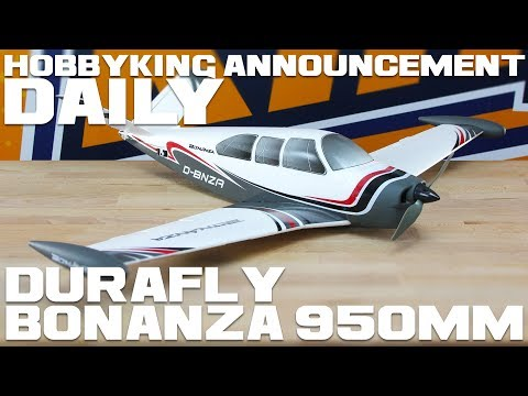 Durafly Bonanza 950mm V-Tail PNF - HobbyKing Announcement Daily - UCkNMDHVq-_6aJEh2uRBbRmw