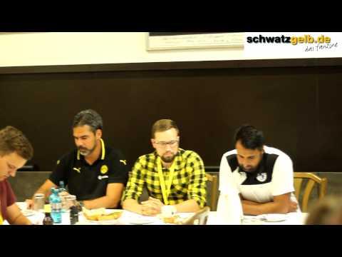 Borussia Dortmund U23 - Sportfreunde Lotte Interviews und Pressekonferenz