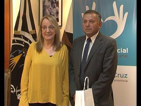 Roberto Recabal - Alcalde de Villa O'Higgins / Acuerdan avances para el Paso Mayer
