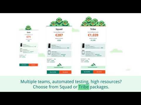 Testautomatisierung, App Distribution und Real Devices mit der Testbirds Device Cloud