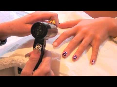 Trendy Nail Wraps - Full Coverage - Fingers Application 2010