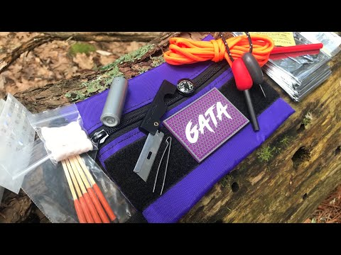 Wilderness Survival Kit: Pre-Made AND Budget-Friendly at on $30 - Gata Does Solid Work
