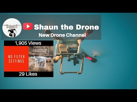 DJI Phantom 3 Advanced ND Filter Settings #droneseekers