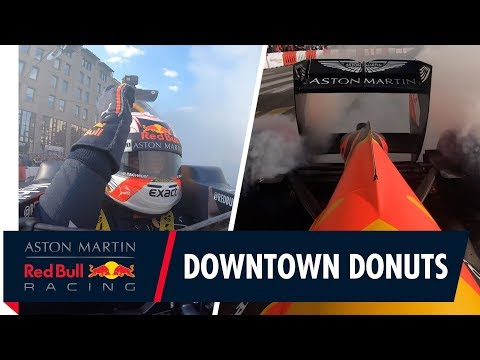 Downtown Donuts | Max Verstappen takes to the Budapest streets