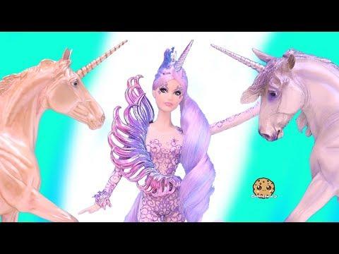Unicorn Goddess ! New Pastel Rainbow  Barbie Doll - Cookie Swirl C Toy Video - UCelMeixAOTs2OQAAi9wU8-g