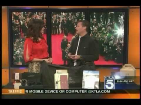 KTLA-CW5  GBK Productions 2013 Golden Globes Gift Bag.