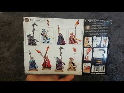Collegiate Arcane Mystic Battle Wizards unboxing german HD★ Die kleinen Magier