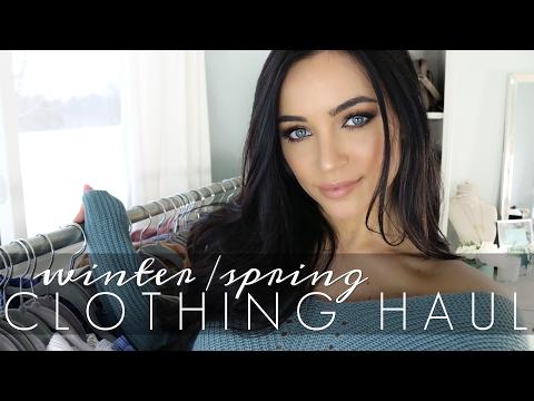 WINTER/SPRING CLOTHING HAUL | Stephanie Ledda